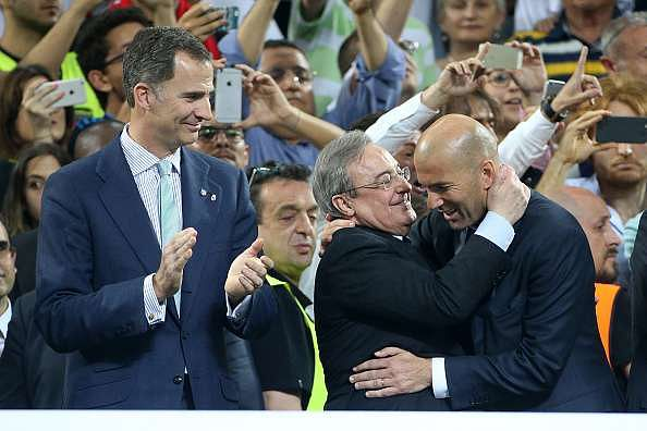 VIDEO: Real Madrid president Florentino Perez mocks Barcelona after 11th UEFA Champions League title