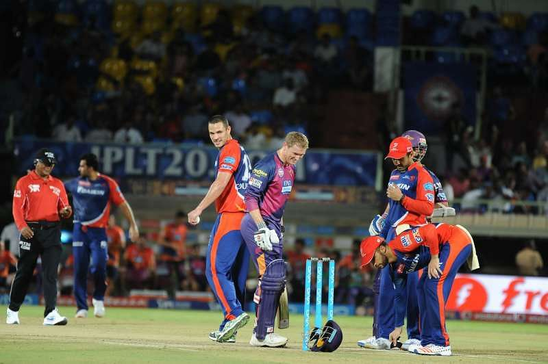 IPL 2016: Bouncer's blow was like getting hit on the face by a truck, says George Bailey
