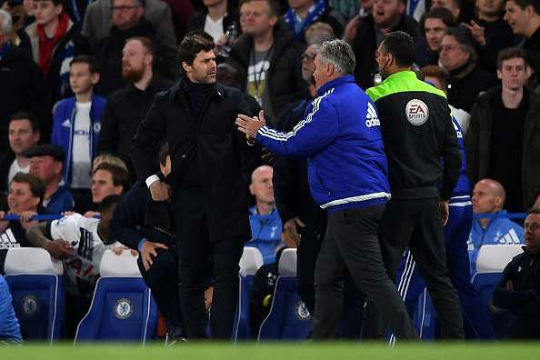 Watch: Guus Hiddink knocked down after Chelsea-Tottenham Hotspur match