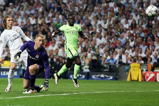 Real Madrid beat us with a lucky goal, says Manchester City goalkeeper Joe Hart