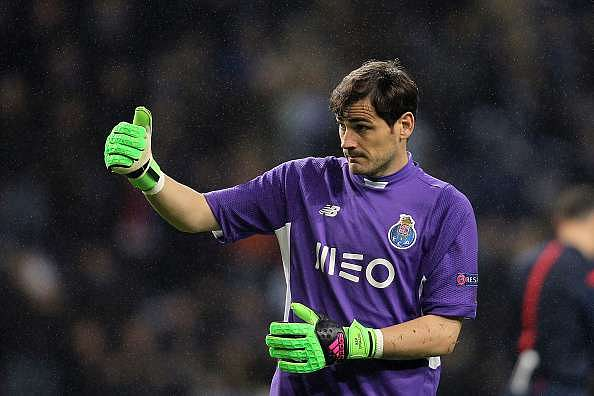 Iker Casillas pledges future to Porto, dismisses link with MLS