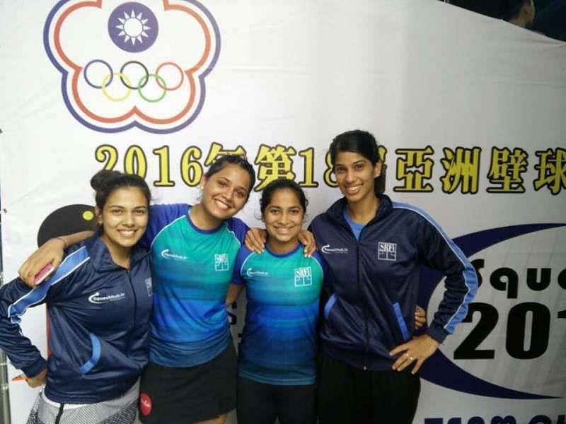 Asian Squash Championships: Women reach the final, men lose in semi-finals