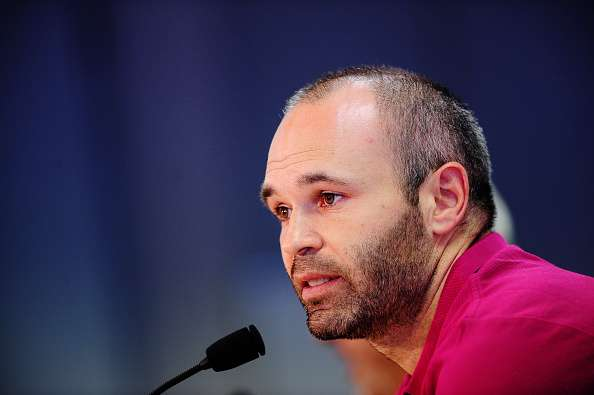Andres Iniesta not planning to play until the age of 40