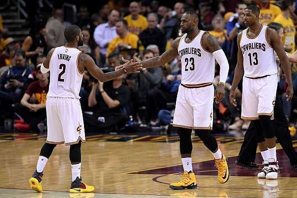 2016 NBA Conference Finals: Irving, James help Cavs get off to a winning start