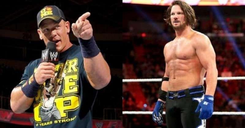 WWE News: John Cena - AJ Styles showdown to happen on WWE RAW on 30 May, 2016