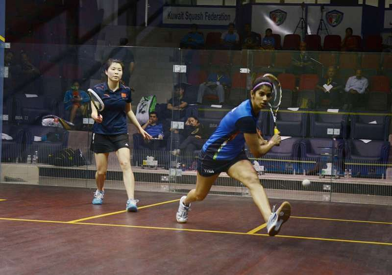 Joshana Chinappa :    satisfied with the overall performance of the Indian team, at the Asian Championships