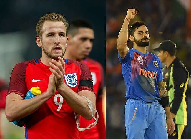 Harry Kane praises Virat Kohli on Twitter after his century for RCB