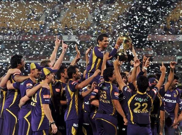 All time Kolkata Knight Riders XI