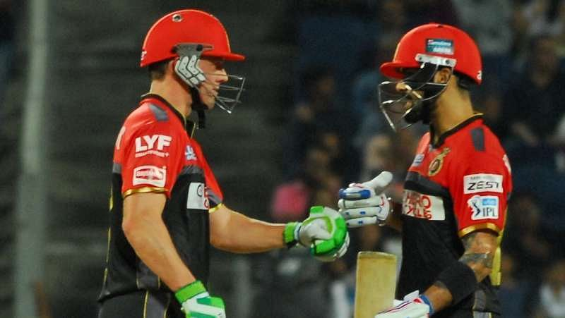 IPL 2016 - Stats: Virat Kohli and AB de Villiers help RCB mow down KKR in their own den