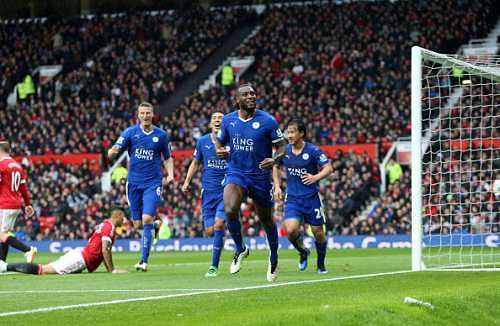 Leicester City made to wait for Premier League title after Manchester United hold Foxes to 1-1 draw