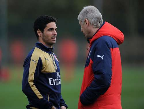 Mikel Arteta believes Arsene Wenger has been a great leader at Arsenal
