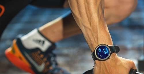 The Moto 360 Sport – ideal for athletes and fitness enthusiasts