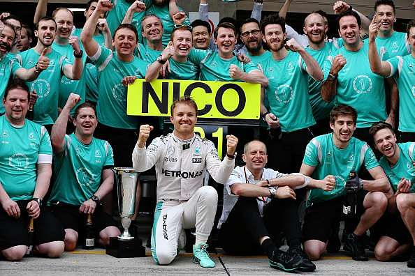 Drivers with most consecutive Formula One race wins