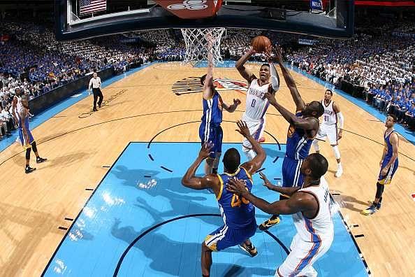 2016 NBA Western Finals: Durant, Westbrook help Thunder take 2-1 lead