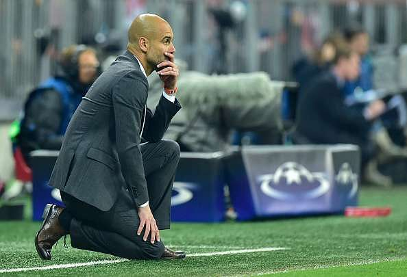 Bayern Munich's medical team criticised by Pep Guardiola