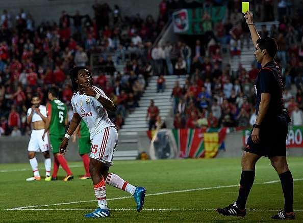 Sanches booked