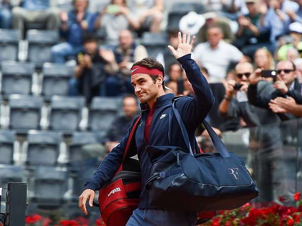 Rome Masters: Dominic Thiem shows Roger Federer the door in third round