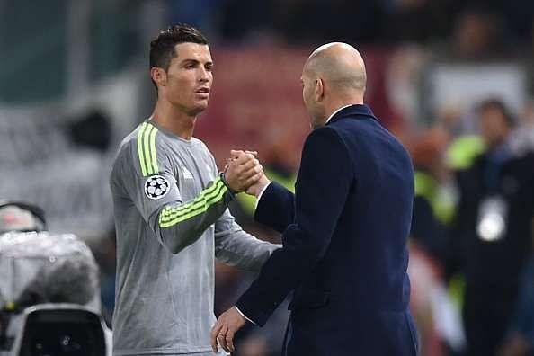 Cristiano Ronaldo wants Zinedine Zidane to stay on as Real Madrid coach