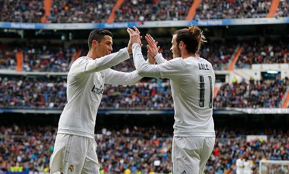 Cristiano Ronaldo reveals that his son thinks Gareth Bale is faster than he is