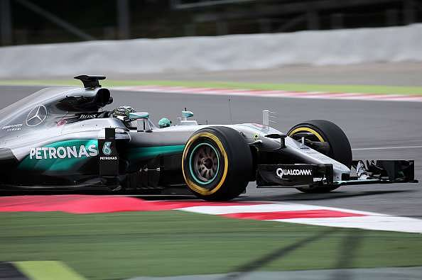 Sebastian Vettel, Nico Rosberg and Jenson Button set the pace at F1 tests in Spain
