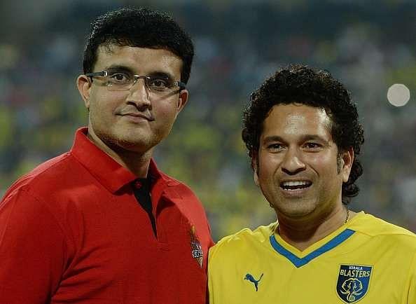 Sourav Ganguly congratulates Sachin Tendulkar for being chosen as India's ambassador for Rio Olympics