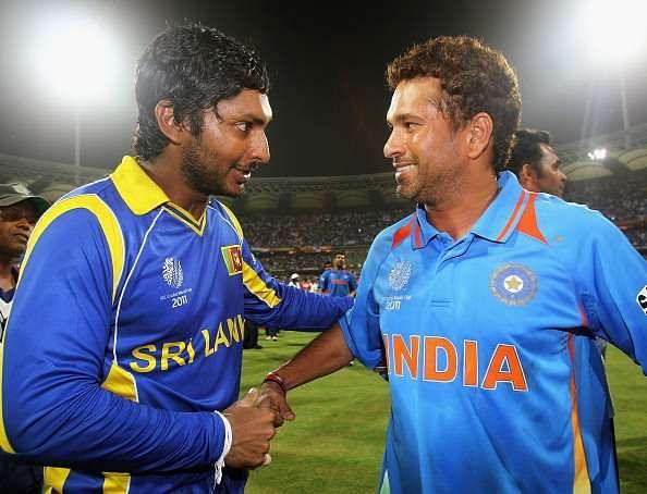 Sachin Tendulkar loses out to Kumar Sangakkara in