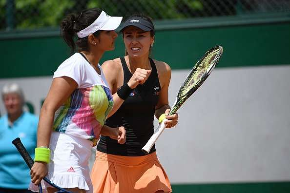 French Open doubles: Wins for Sania Mirza, Rohan Bopanna and Leander Paes