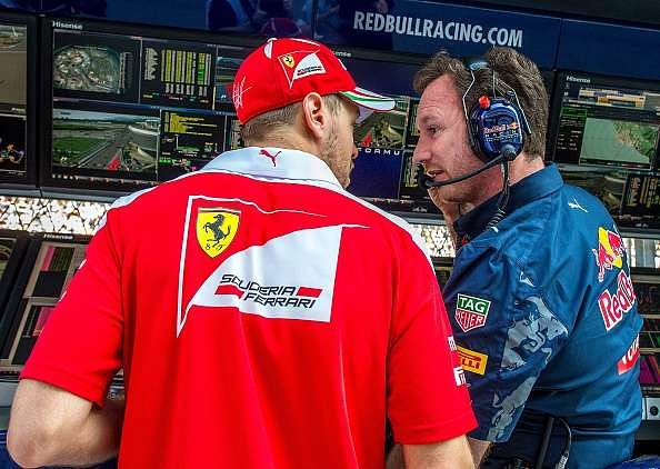 Russian GP: David Coulthard believes contact between Daniil Kvyat and Sebastian Vettel was accidental