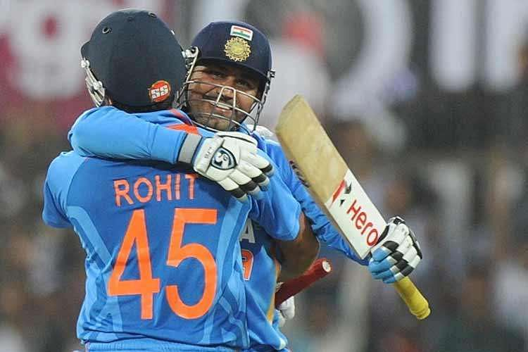 Virender Sehwag's humourous birthday wishes for record-breaker Rohit Sharma