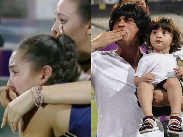Kolkata Knight Riders cheerleaders get emotional after IPL exit, Shahrukh Khan thanks them