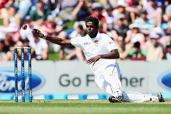 Sri Lankan pacer Shaminda Eranga reported for suspect action