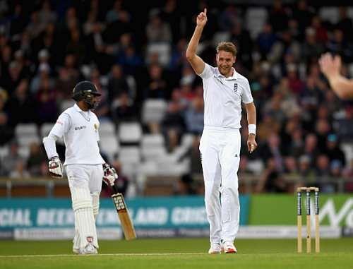 Stuart Broad warns Sri Lanka ahead of second Test match
