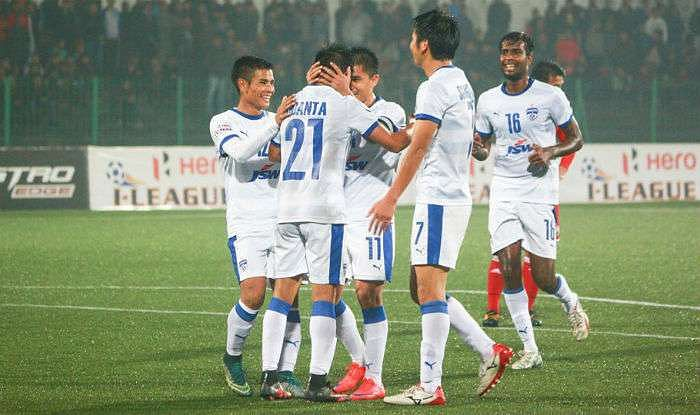 AFC Cup 2016: Sunil Chhetri double sends Bengaluru FC to quarter-finals after 3-2 win over Kitchee SC