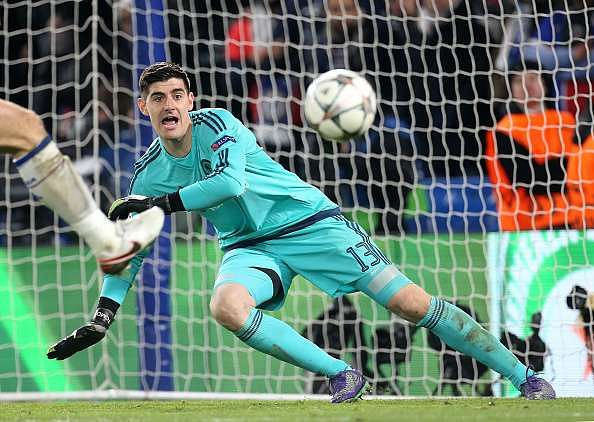 Thibaut Courtois says he is committed to Chelsea