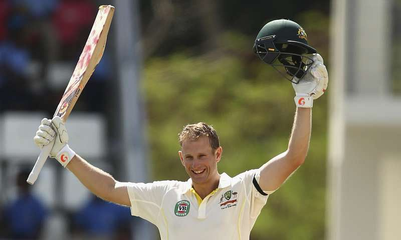 Australian batsman Adam Voges suffers head concussion after being hit by throw