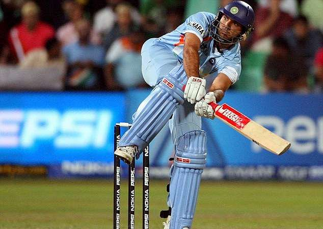 Image result for yuvraj singh in 2007 t20 world cup