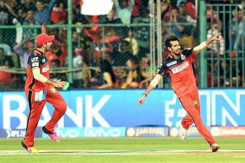 IPL 2016: Yuzvendra Chahal apologises to AB de Villiers for inadvertent on-field accident