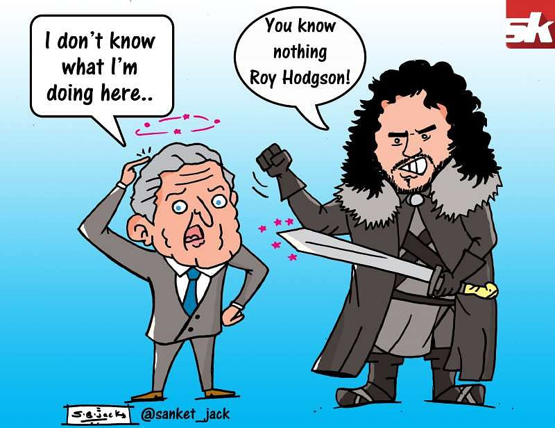 Comic You Know Nothing Roy Hodgson