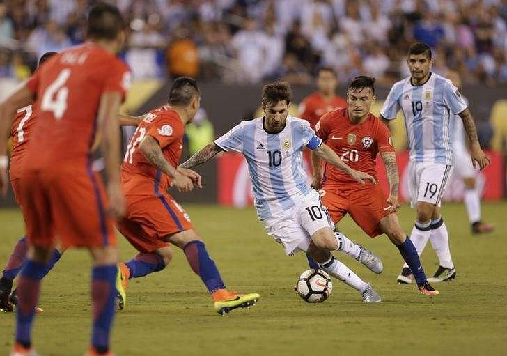 Soccer-Chile clinch Copa America title in shootout