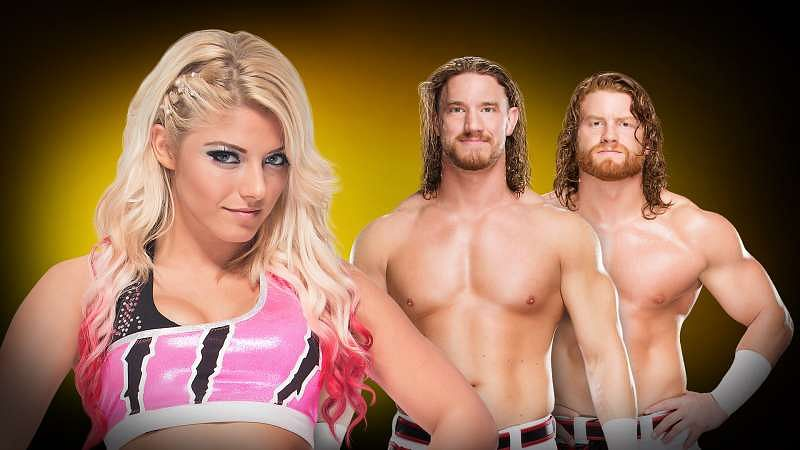 Top 6 Questions With :    Alexa Bliss, WWE NXT wrestler talks about her partnership with Blake and Murphy