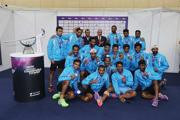 The Indian men's hockey team. Image Courtesy: Sportskeeda