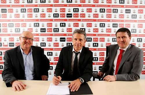 Southampton confirm Claude Puel as their new manager