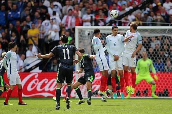 gareth bale free kick goal wwwimgkidcom the image