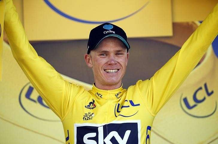 Froome seizes yellow jersey with solo win in Pyrenees