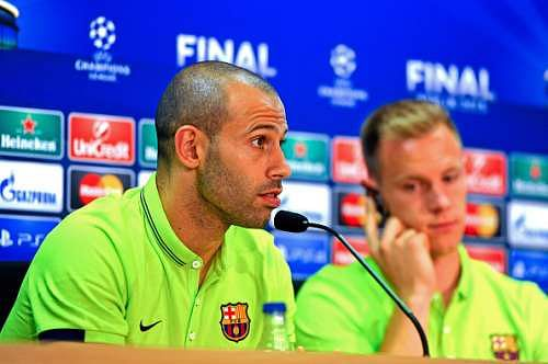Barcelona Transfer News: Javier Mascherano agrees new deal to stay at Camp Nou