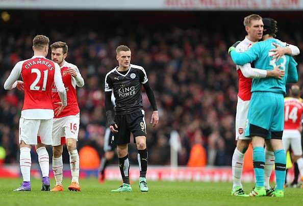 Jamie Vardy; Rejecting Arsenal was so easy