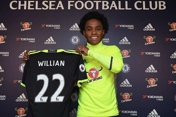 Willian signs new four-year contract at Chelsea