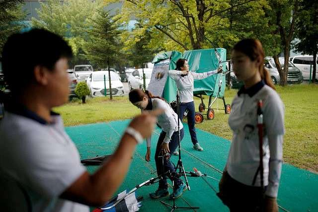 SKorean women win 8th straight Olympic gold in team archery