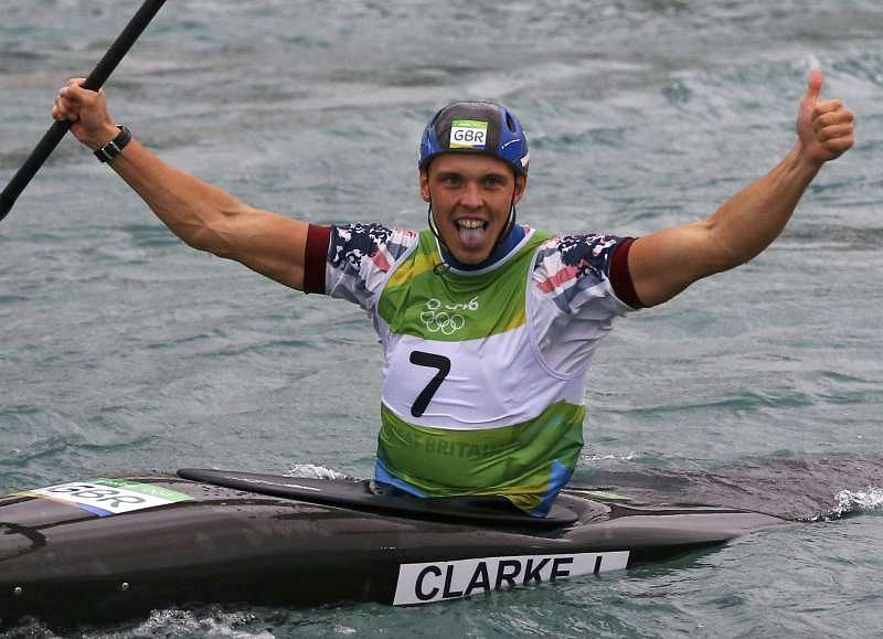 Team GB's Joe Clarke wins Rio Olympics canoe slalom gold