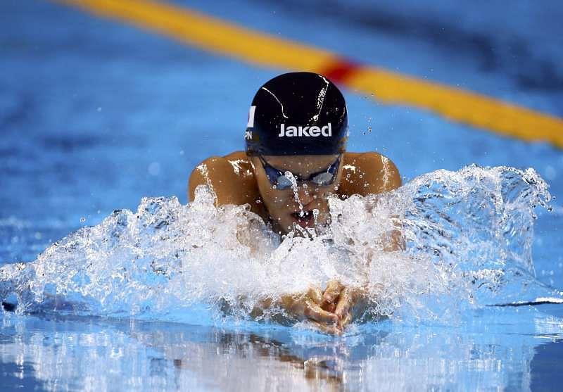 Efimova gets silver again as kaneto wins women 39 s 200 breaststroke - Olympic swimming breaststroke ...